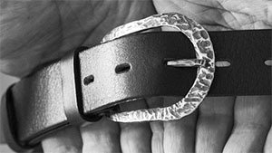 Belts with a buckle