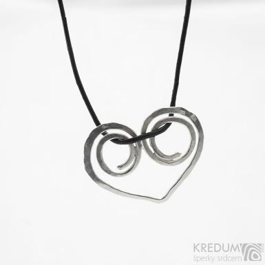 Srdíčko - Stříbrný přívěsek - SK3780