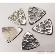 Trsátko ocel nerez kov - Shark - přední (lícová) strana