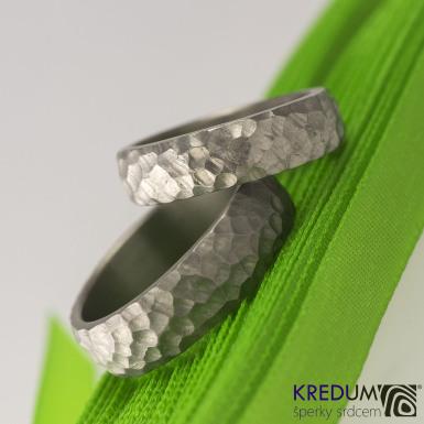 Marro titan - kovaný snubní prsten
