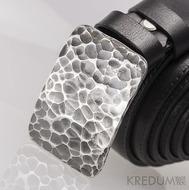 Kovaná nerez spona - Mistr 3X - Draill + tmavě hnědý pásek (objednává se samostatně)