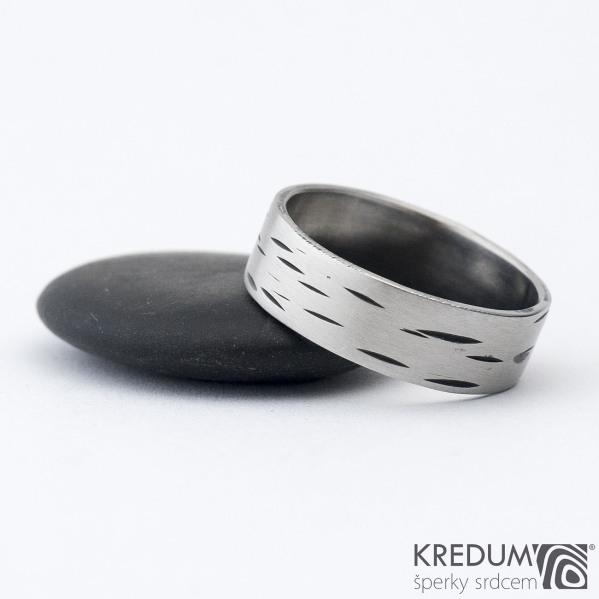 Betula - 65 6,9 1,3 - Nerez snubní prsten sk1305