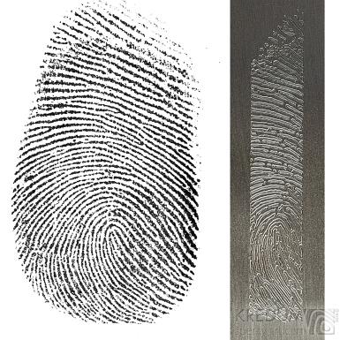 Rytí otisků prstů - počítačem
