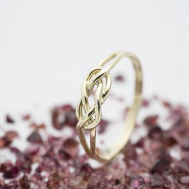 Kuplung Yellow - Zlatý snubní prsten, SK2890
