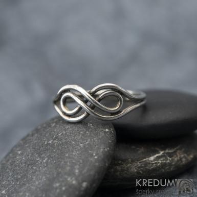 Mask Silver Patina - Stříbrný prsten, SK1601
