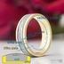Snubní prsten Kasiopea - rozměry